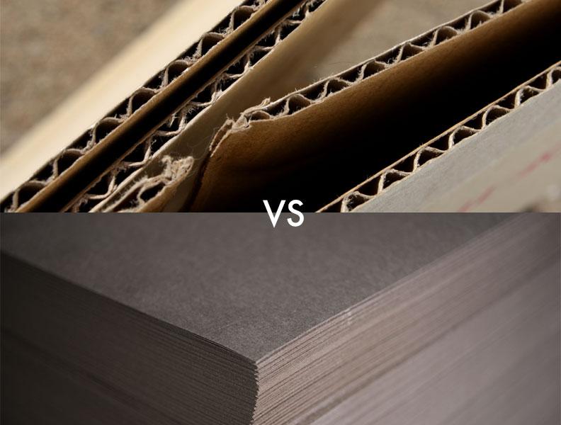 Corrugated Cardboard Vs Chipboard Who Wins Crown